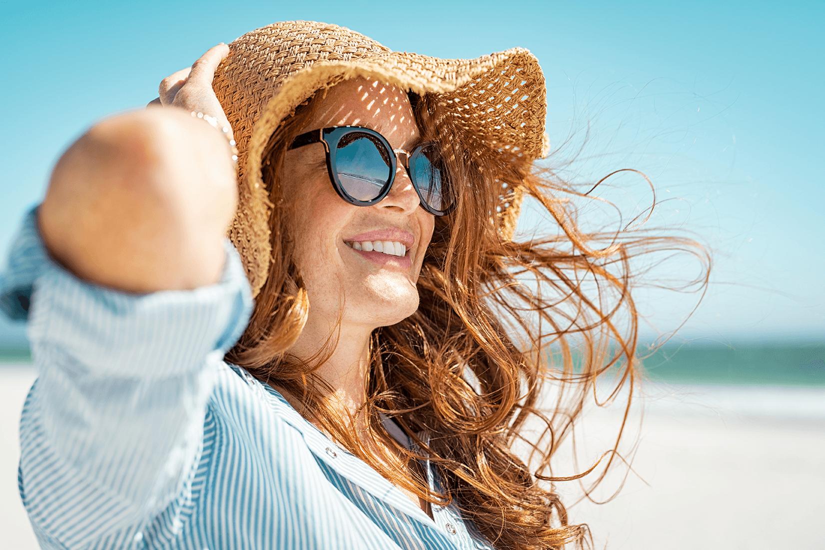 Ako mať krásne a zdravé vlasy v lete?