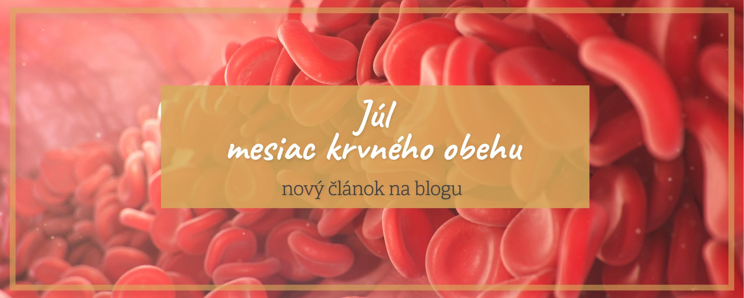 Blog krvný obeh ajurvéda