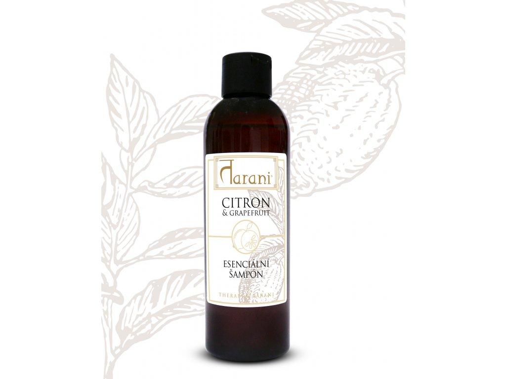 Citron a Grep šampon ořez na web