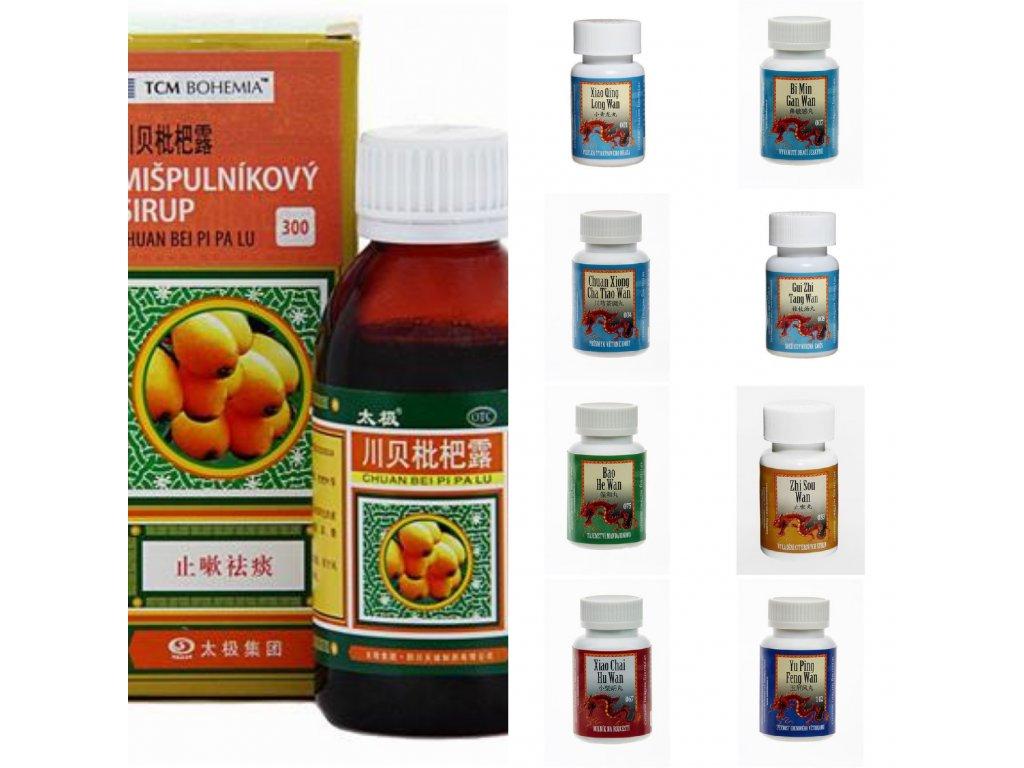 Tradiční čínská medicína a feng shui Zimní lékárnička
