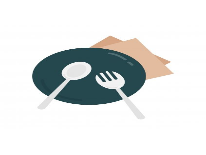 Hlavní jídlo 8. 4. 2020 - 100g ZAPEČENÝ KUŘECÍ PLÁTEK, ŠUNKA, SÝR, BRAMBOR