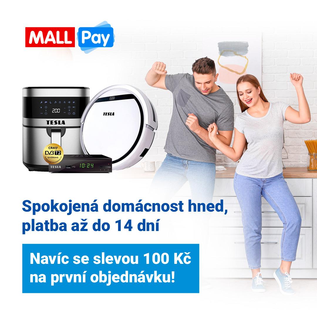 SLEVA 100 Kč s MALL Pay