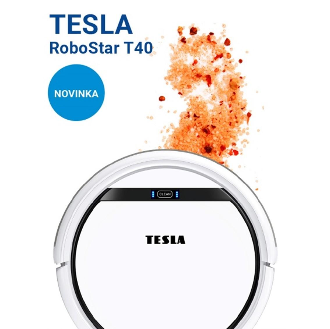 Novinka: TESLA RoboStar T40 - robotický vysavač