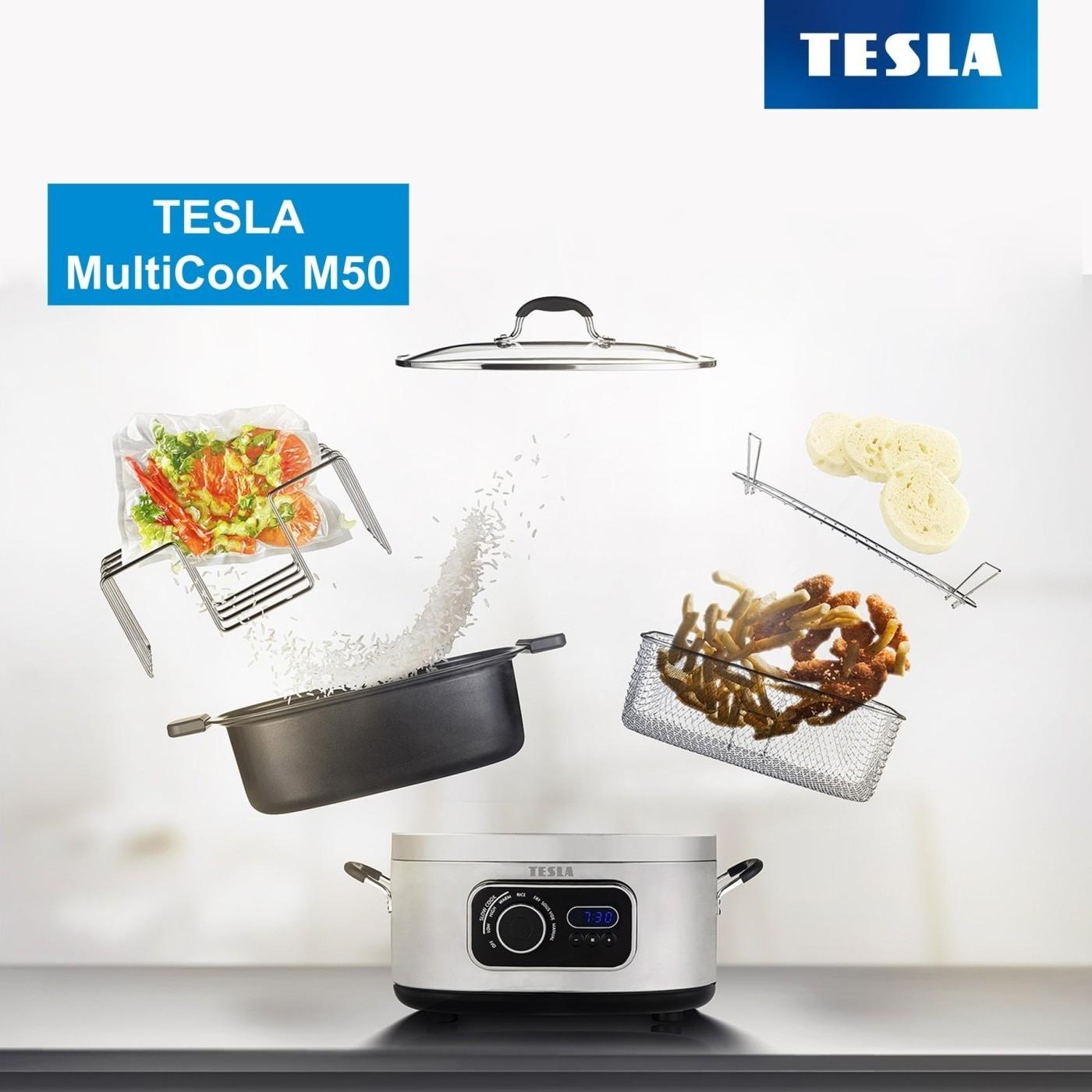 Novinka: multifunkční elektrický hrnec TESLA MultiCook M50