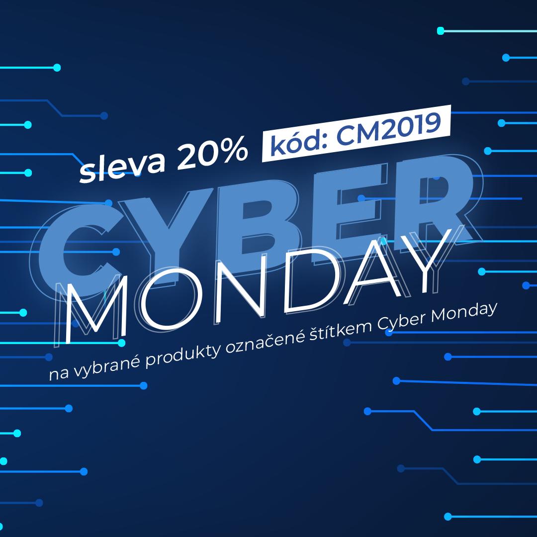 Cyber Monday - slevy pokračují - 20% na vybrané produkty
