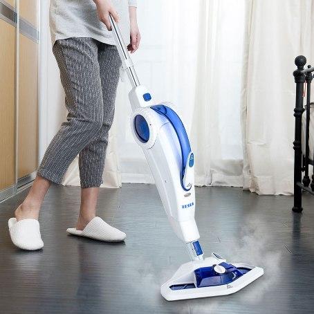 Novinka: parní mop se zásobníkem na čistící prostředek TESLA SteamPower FX50