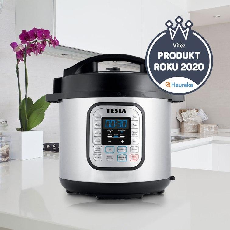 Nejoblíbenější multifunkční tlakový hrnec TESLA EliteCook K70 - Produkt Roku 2020