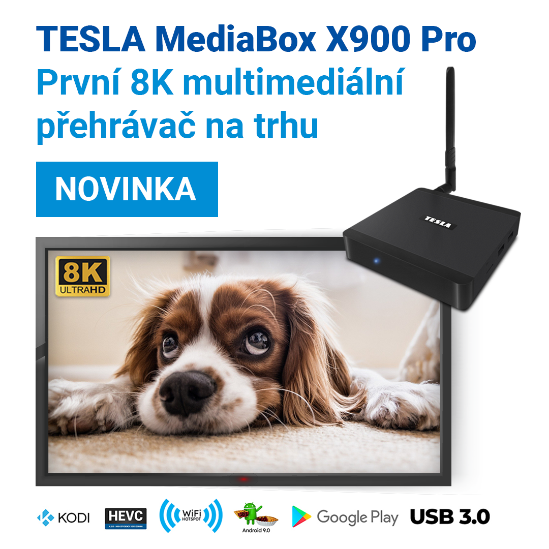 Novinka: TESLA MediaBox X900 Pro