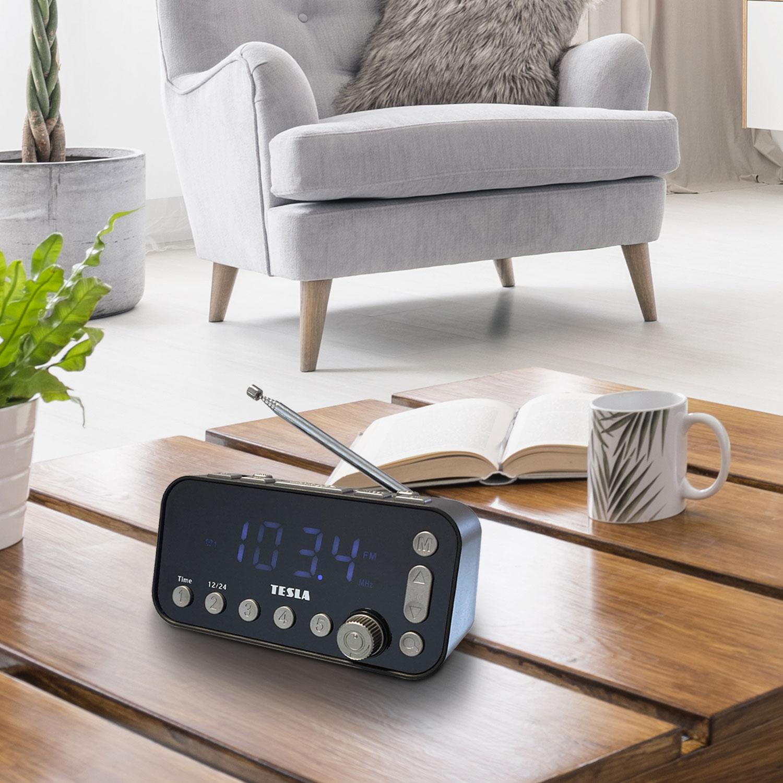 Novinka: TESLA Sound RB110 - DAB+ radiobudík