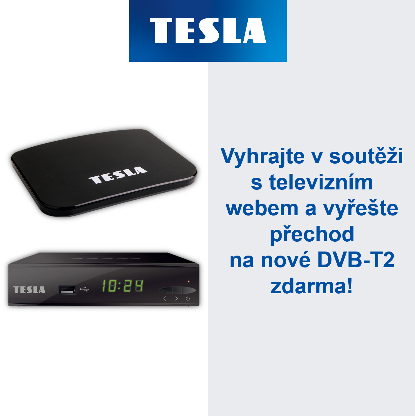 Soutěž o Set-Top boxy TESLA - Televizniweb.cz