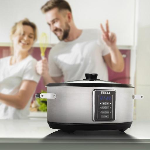 Vynikající a zdravé jídlo připraví pomalý hrnec TESLA SlowCook S700 za vás