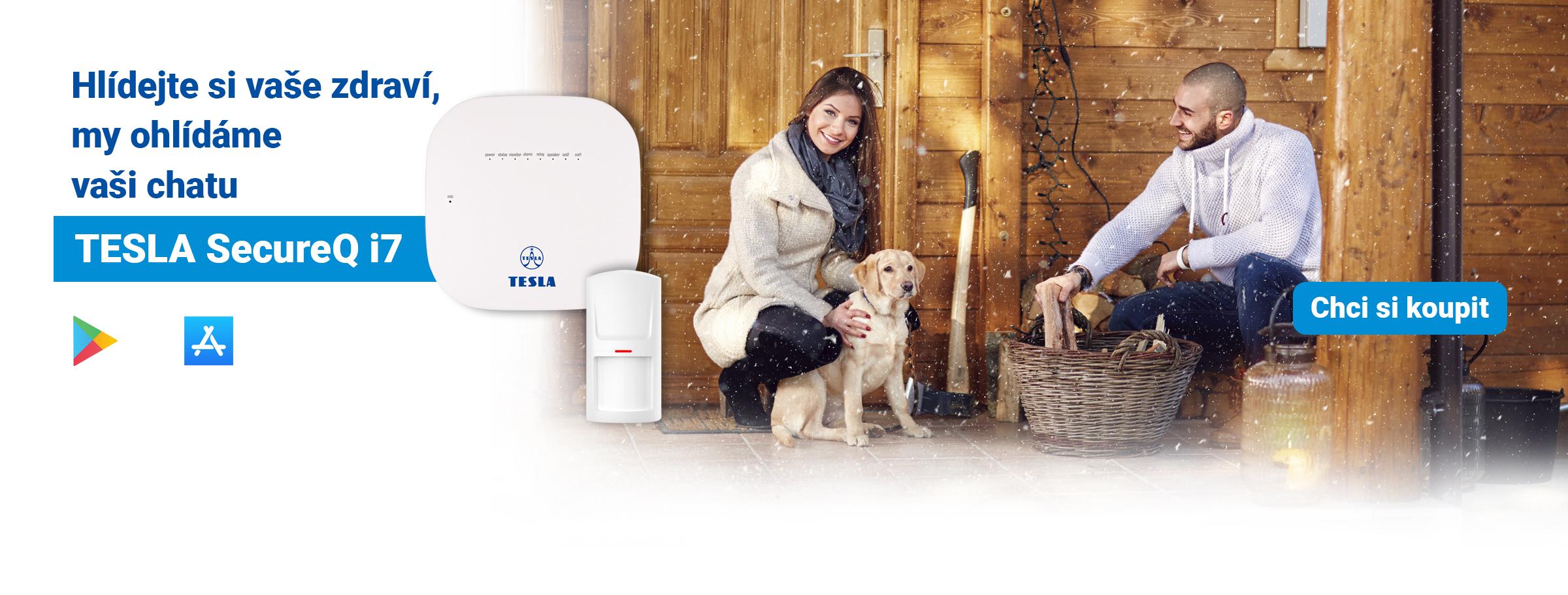 TESLA SecureQ i7 - GSM smart alarm systém