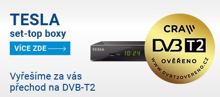 TESLA - vyřešíme za vás přechod na DVB-T2