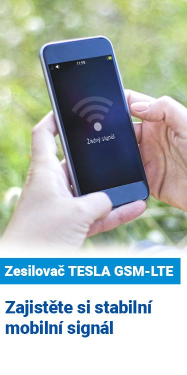Zesilovač TESLA GSM-LTE - zajistěte si stabilní mobilní signál
