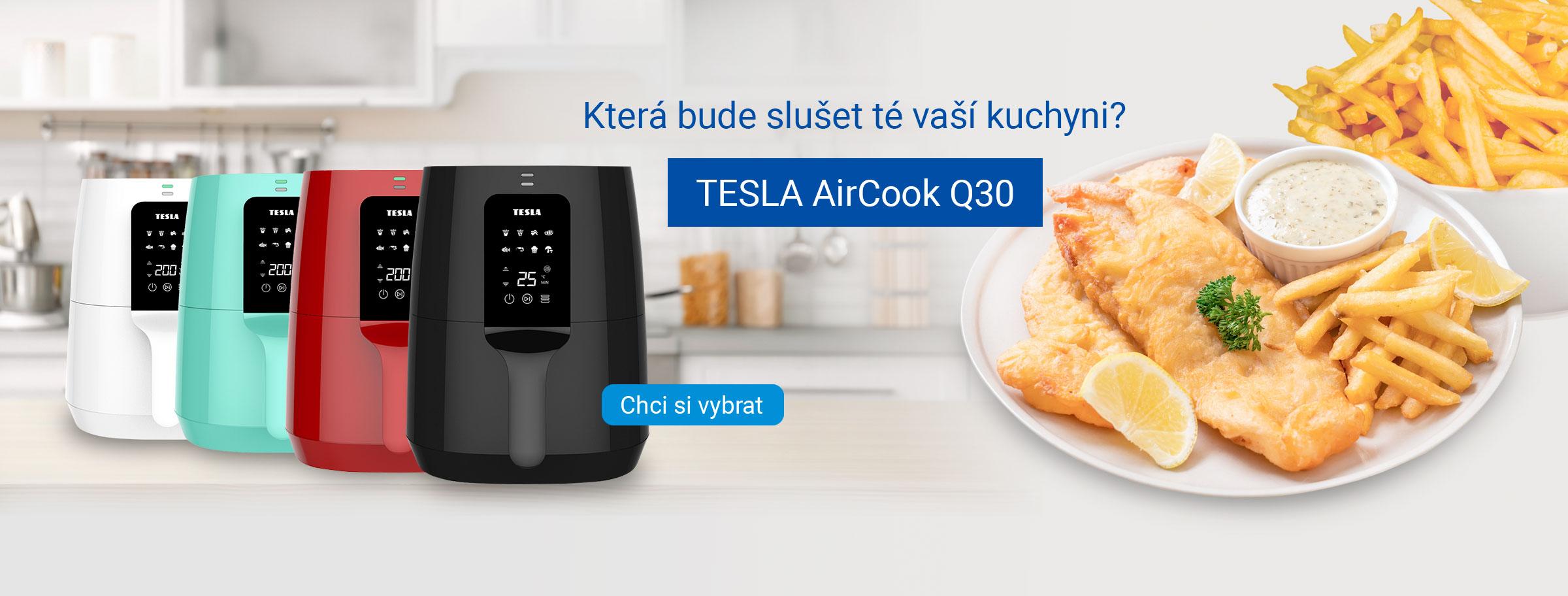 TESLA AirCook Q30 - multifunkční digitální horkovzdušná fritéza
