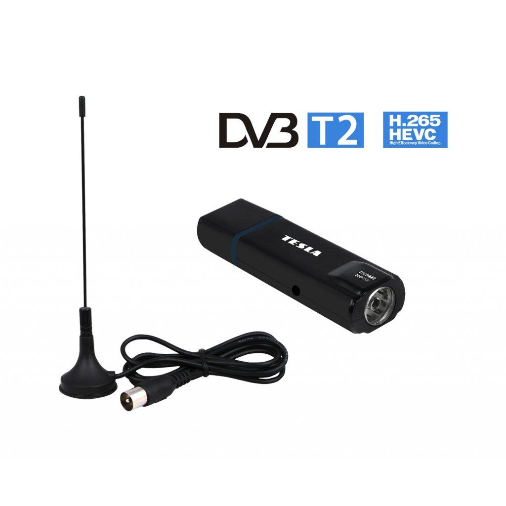 TESLA Proxy T2 - DVB‒T2 H.265 (HEVC) USB tuner