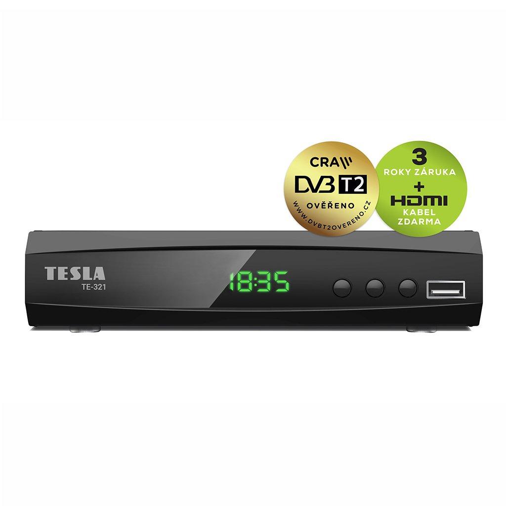 tesla te 321 front DVB T2 new 1024