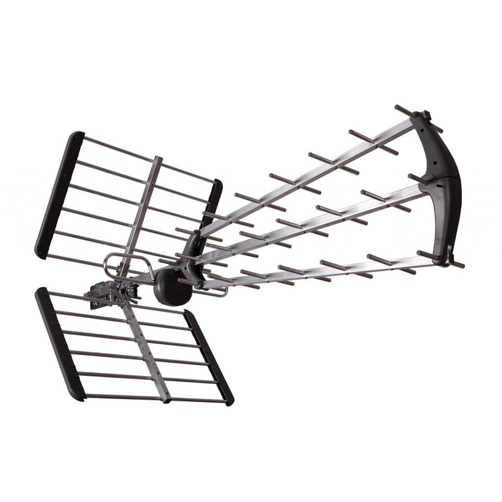 TESLA TE‒345 - venkovní anténa pro DVB‒T2 signál, 470‒790 MHZ, 15 dBi | 2. jakost | SPO