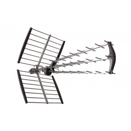 TESLA TE‒346 - venkovní anténa pro DVB‒T2 signál, 470‒790 MHZ, 17 dBi