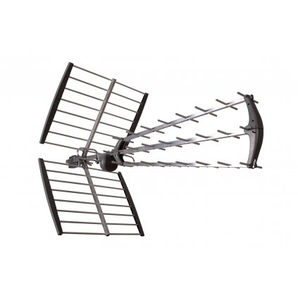 TESLA TE‒346 - venkovní anténa pro příjem DVB‒T2 signálu, 470‒790 MHZ, 17 dBi