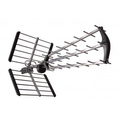 TESLA TE‒345 - venkovní anténa pro příjem DVB‒T2 signálu, 470‒790 MHZ, 15 dBi