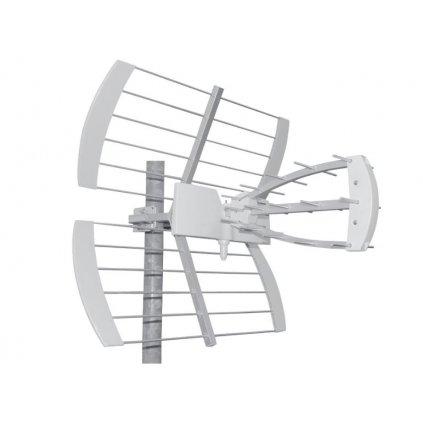 TESLA TE‒344 - venkovní anténa pro příjem DVB‒T2 signálu, 470‒790 MHZ, 13 dBi