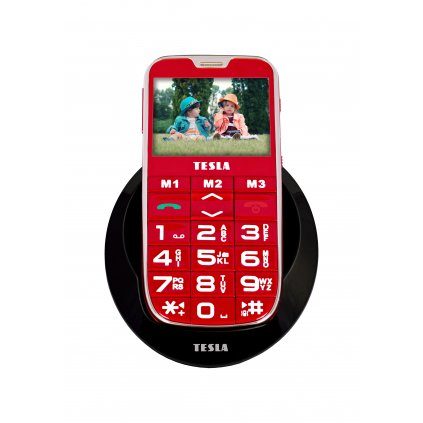 tesla simplephone a50 red