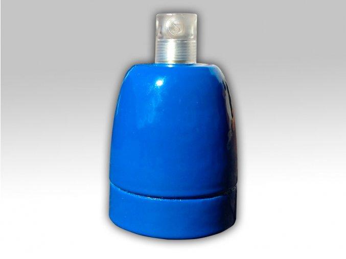 keramická objímka modrá