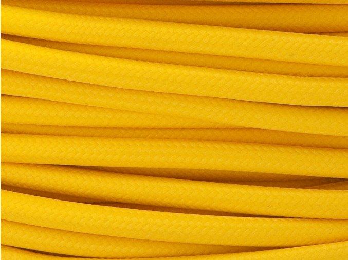 kabel 3 x 0,75mm žlutý