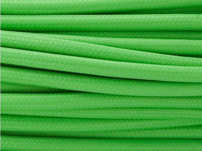 kabel 3 x 0,75mm zelený