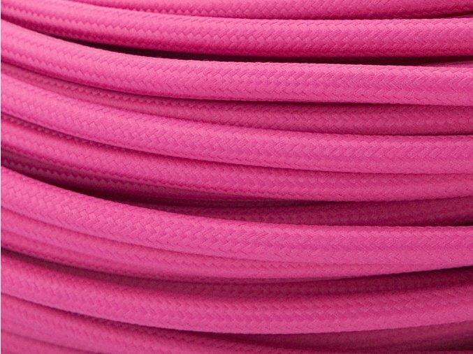 kabel 3 x 0,75mm růžovofialový