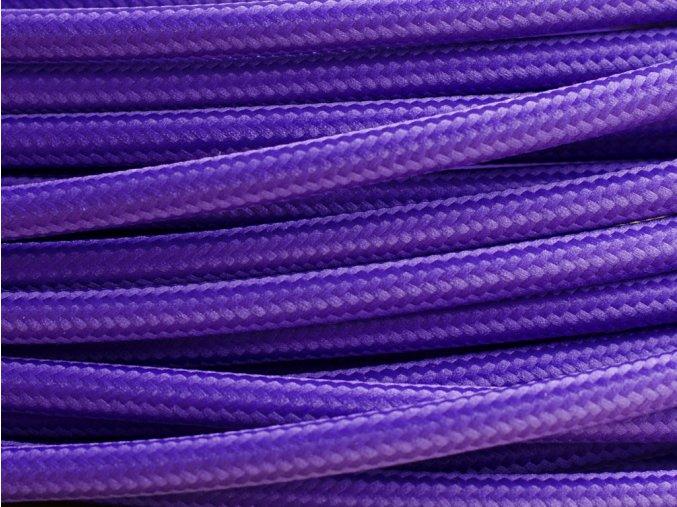 kabel 3 x 0,75mm modrofialový