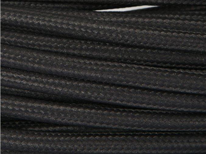 kabel 2 x 0,75mm černý