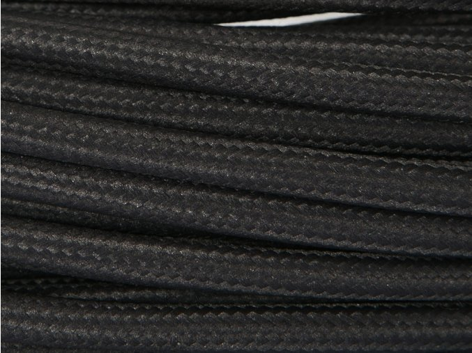 kabel 4 x 0,75mm černý