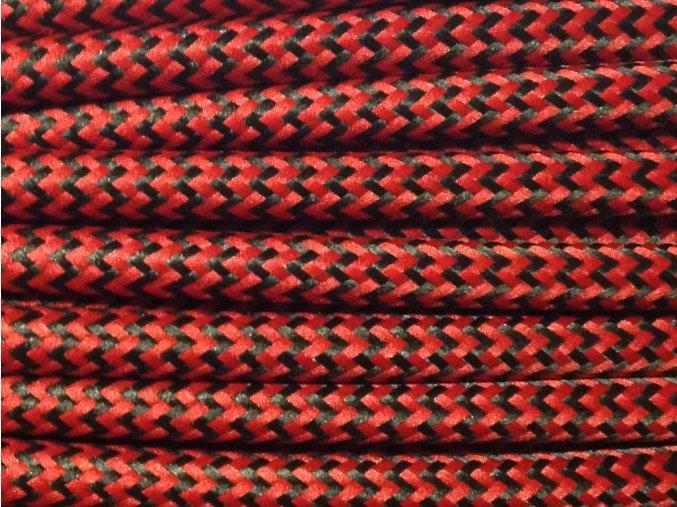 kabel 3 x 0,75mm černo červený CIKCAK