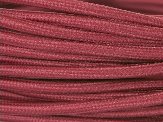 kabel 3 x 0,75mm bordeaux