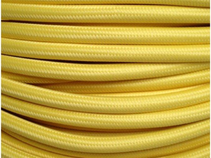 kabel 3 x 0,75mm světle žlutý