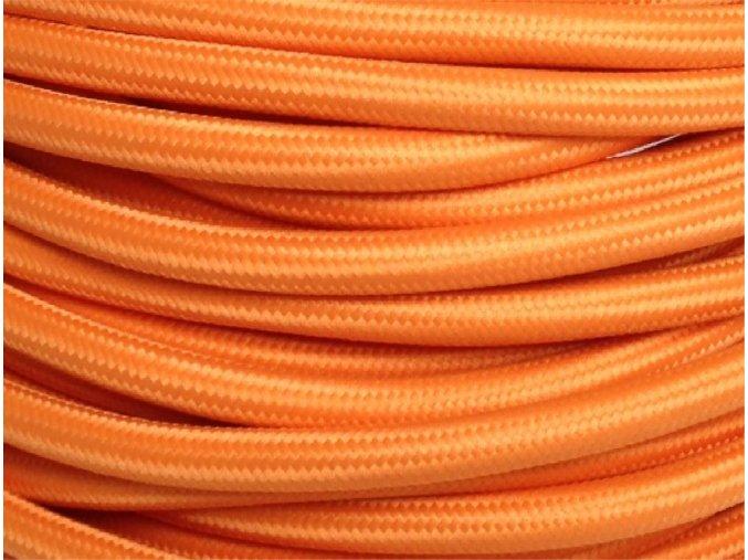 kabel 3 x 0,75mm světle oranžový