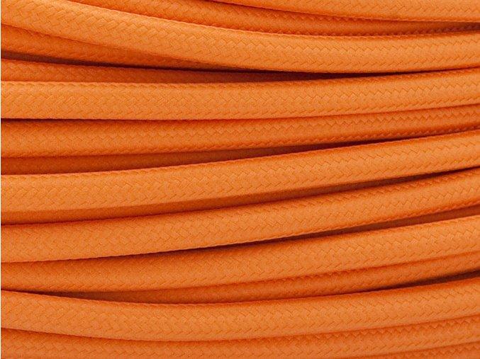 kabel 2 x 0,75mm oranžový