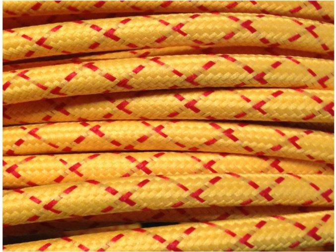 Kabel 3 x 0,75mm PATTERN ROUND X