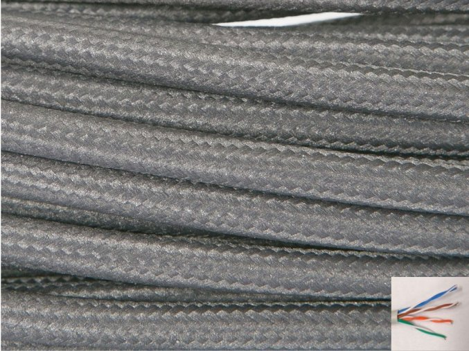 UTP internetový kabel WARM GRAY 4C