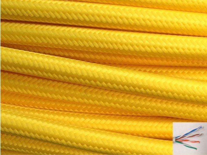 UTP internetový kabel ŽLUTÝ
