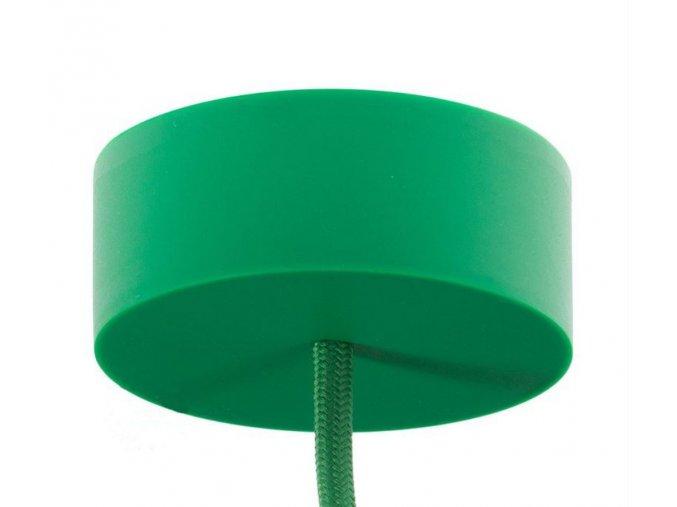 Silikonový baldachýn zelený
