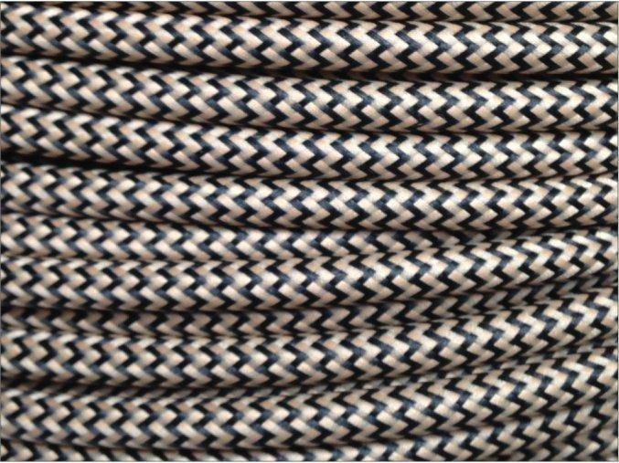 černo béžový cikcak 5000 2016