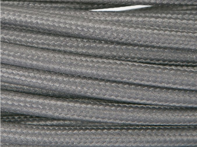 kabel černošedý 2 x 0,75mm