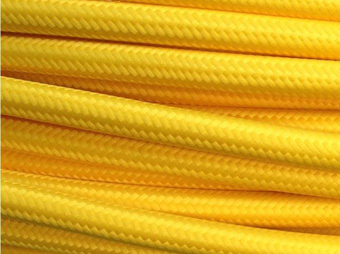 kabel žlutý 4 x 0,75mm