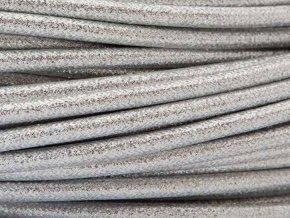 kabel 3 x 0,75mm stříbrný