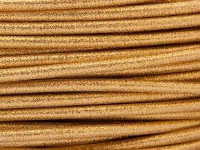 kabel 3 x 0,75mm zlatý