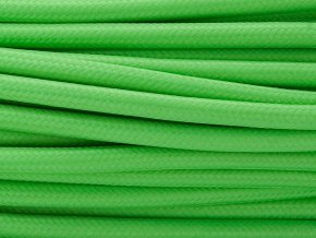 kabel 2 x 0,75mm zelený