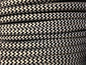 kabel 3 x 1mm černo bílý CIKCAK